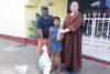 Dankbare Hilfsempfänger auf den Strassen von Managua (csi)