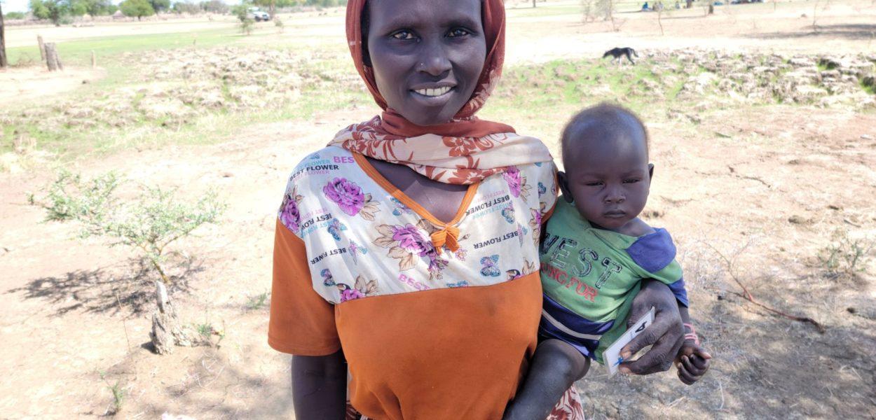 Athieng ist dankbar, dass sie befreit wurde und ihren Sohn mitnehmen konnte, dessen Vater ihr einstiger Gebieter ist. csi