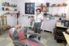 Die dreifache Mutter Malaka ist dankbar, dass sie durch die Kleingewerbeförderung einen Coiffeur-Salon eröffnen konnte. csi