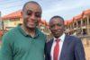 Franklyne Ogbunwezeh (links) mit CSI-Partner Solomon Dalyop Mwantiri aus der zentralnigerianischen Stadt Jos. (csi)