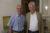 John Eibner, hier mit dem syrischen CSI-Partner Nabil Antaki, plädiert seit Jahren für die Aufhebung der Wirtschaftssanktionen gegen Syrien. (csi)